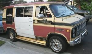 1984 chevy van g10