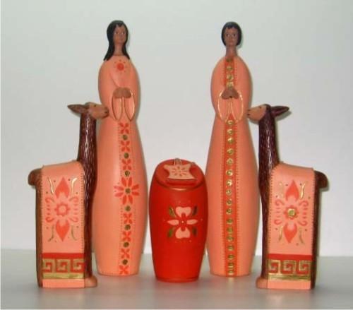 Ceramic peruvian