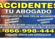 TU ABOGADO LEGAL/Abogado de Accidentes