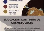 Curso de eduación continua para cosmetologia
