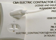 C & a electric contractor corp