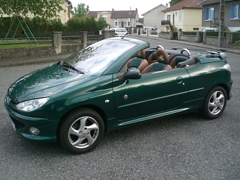Peugeot 206 cc roland garros