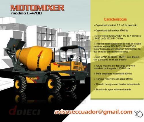 Tractores. concreteras. maquinaria de cosntrucción en ecuador quito. vendo tractores