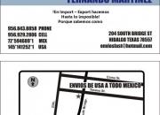 Envios de paqueteria de usa a todo la republica mexicana