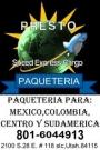 PAQUETERIA  Y CARGA A MEXICO,COLOMBIA,VENEZUELA, TODA CENTRO Y SUR AMERICA Y EUROPA