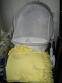 vendo silla mesedora de bebe cobijita y trajesito