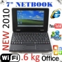MINI LAPTOP WIFI, 7¨ OFFICE, MSN, WINDOWS CE 6.0 ESPANOL
