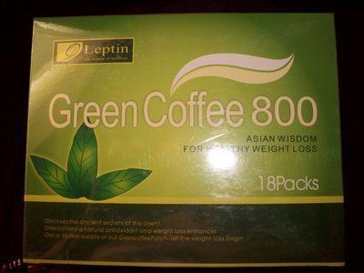 Green coffee 800 baja de peso