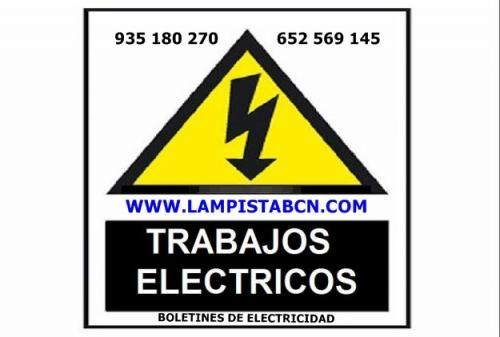 Boletines de electricidad en castelldefels 652 569 145 boletin azul, boletin blanco de luz en castelldefels.
