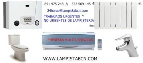 Lampista cornella 935 180 270 lampista cornella de llobregat , fontnaero electricista
