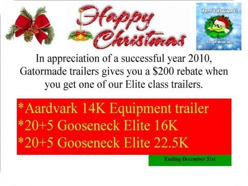 Venta de trailers en especial gooseneck trailers, equipment trailers gatormade trailers