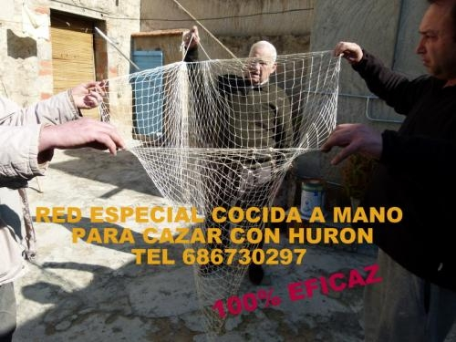 Redes para cazar conejos con huron 2,75 ? envios 686730297 precios de fabrica