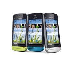 Nokia 002v4d3 incl. c5-04-gra gsm cargador battwrls cable con conexión de cable auricular