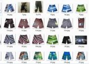 franklin marshall camisetas t, billabong, pantalones cortos rápida plata, boardshorts volcom