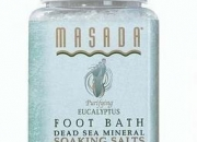 Natural mineral foot soak by masada