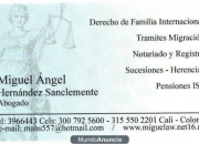Diligencias gestion legal en Colombia - abogados Miguel Hernandez