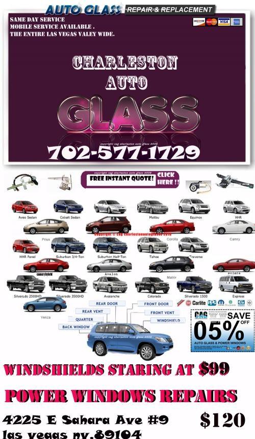 Vidreos/cristales para carros a bajo costo