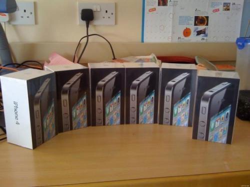 Apple iphone 4g 16gb gsm cuatribanda mundial teléfono (fabricante original)