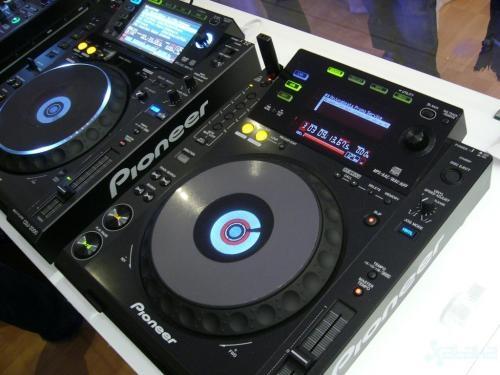 Pioneer djm 600 dj mixer de 4 canales