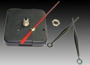 Maquina para reloj ideal para artesanias completa con agujas marca La ganga del Busca, insertos, cuadrantes, numeros.