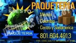 Enviamos paquetes para colombia, venezuela, centro y sur america