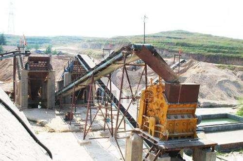 Oferta la línea de producción de piedra
