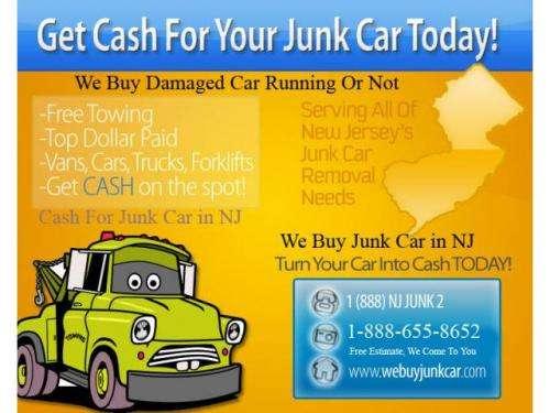 Webuyjunkcar.com pagamos los mejores precios por su carro chatarra en n.j