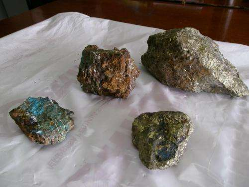 We are looking for investment partners forimmediate exploitation of the copper mine.