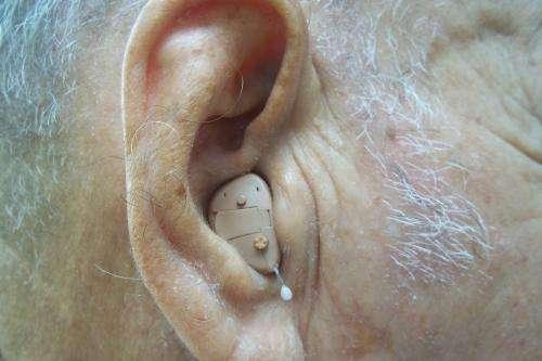 Audifonos para sordera/protectores auditivos/pilas