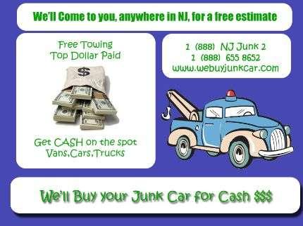 Compra de vehiculos averiados en todo new jersey!
