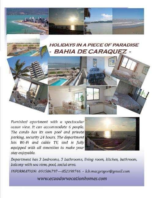 Holidays in a piece of paradise - ecuador