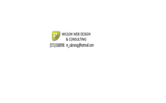 Wilson web design - diseno web profesional