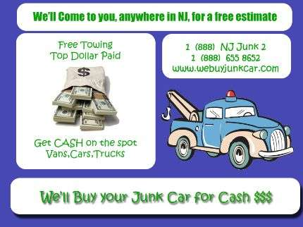 Get rid of your junk car and put cash in your wallet!!