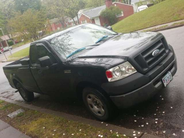 Ford f150 cabina y media v6 black truck cd player work good