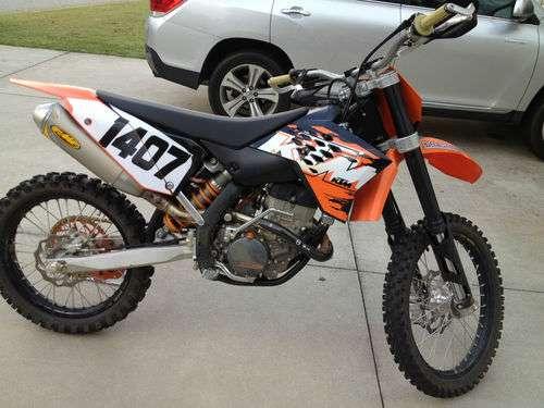 2008 ktm 250 sxf for sale....................