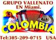 GRUPO VALLENATO EN MIAMI 3052090715