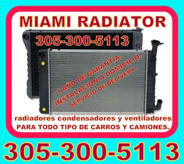 Venta de radiadores en miami