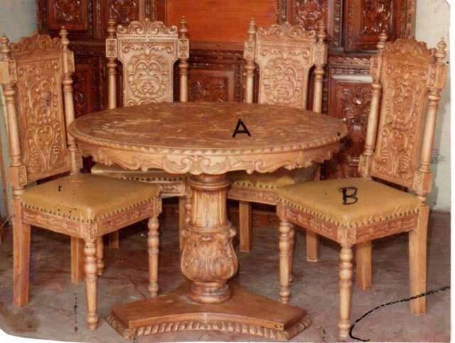 Especialista muebles coloniales tallados peruanos en New York ...