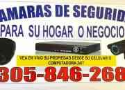 (305-846 2683) CAMARAS DE SEGURIDAD PARA CASAS EN HOMESTEAD
