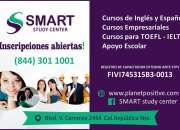 CUROS DE INGLES, ESPAÑOL, TOEFL, APOYO ESCOLAR...