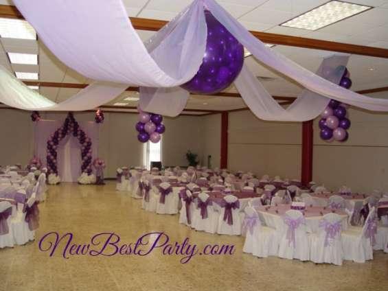 decoracion para bodas y quinceaeras