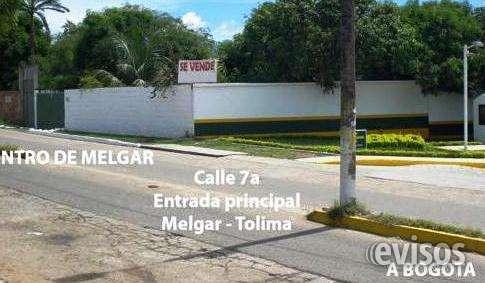Melgar tolima colombia lote para uso comercial vivienda turismo1.049 mts