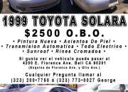 1999 Toyota Solara (Otis Ave. y Florence Ave.)