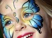 Face art tu fiesta con los mas bellos colores