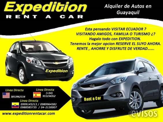 Alquiler carros en ecuador