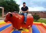 Rental of mechanical bulls in houston (el toro loco show)