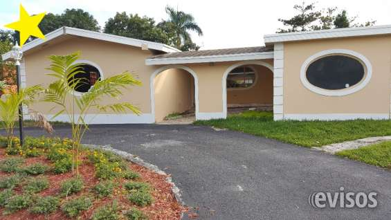 Casa para la venta en miami 4 habitaciones