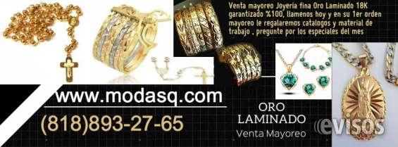 70014f202863 Venta mayoreo joyeria oro laminado 18k brasileño en Los Angeles ...