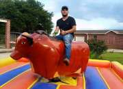 Rental Of Mechanical bulls Of El Toro Loco Show