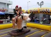 *alquiler de toros mecanicos - el toro loco show *  .